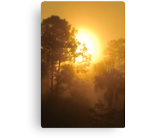 Monument Lake Sunrise, As Is Canvas Print