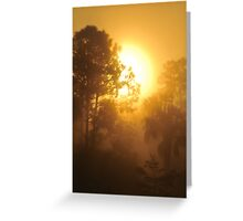Monument Lake Sunrise, As Is Greeting Card