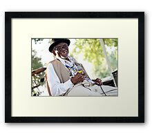 Pops Carter Framed Print