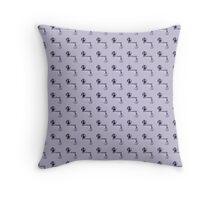 Mystrade Pattern Purple Throw Pillow