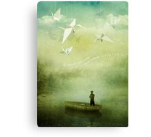 If Wishes Were Wings Canvas Print