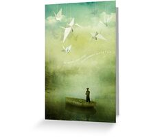If Wishes Were Wings Greeting Card