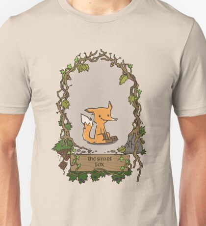 The smart fox (frame) Unisex T-Shirt