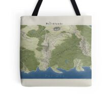 The Northlands map Tote Bag