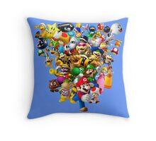 Mario Bros - All Star Throw Pillow