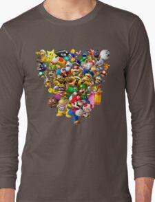 Mario Bros - All Star Long Sleeve T-Shirt
