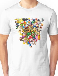 Mario Bros - All Star Unisex T-Shirt
