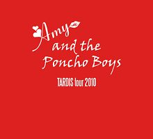 Amy and the Poncho Boys TARDIS Tour 2010 Unisex T-Shirt