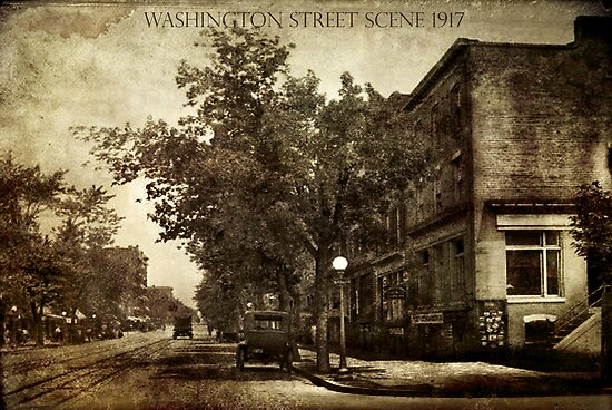 Washington Street Scene by garts