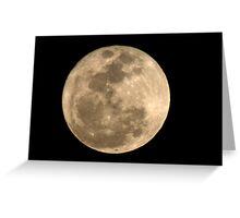 Super Moon (3/19/2011) Greeting Card
