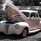 Pink Hot Rod by Bill Gamblin