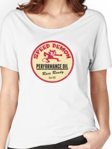 Hot Rod Retro Decal Women's Relaxed Fit T-Shirt