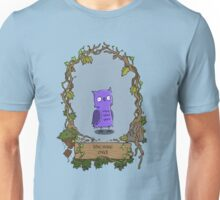 The wise owl (frame) Unisex T-Shirt