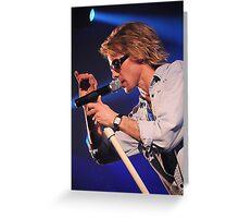 The Bon Jovi Experience Greeting Card