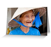 Wrinkled Happiness Greeting Card