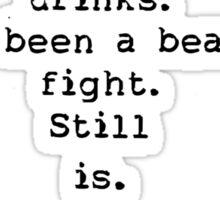 Charles Bukowski quotes Sticker