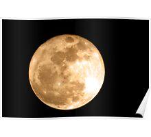 Super Moon 2011 Poster