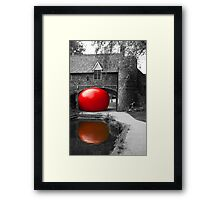 The Red Ball Project Framed Print