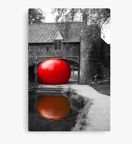 The Red Ball Project Canvas Print