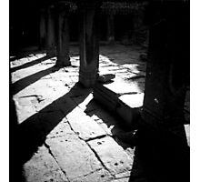 pillars, siem reap, cambodia Photographic Print
