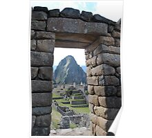 Incan Archway Poster