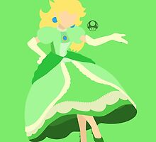 Peach (Green) - Super Smash Bros. by samaran