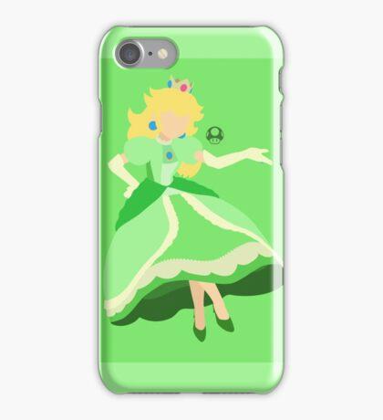 Peach (Green) - Super Smash Bros. iPhone Case/Skin