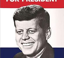 JFK Campaign Poster by WaldenWalters