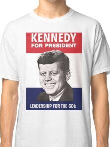 JFK Campaign Poster Classic T-Shirt