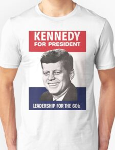 JFK Campaign Poster Unisex T-Shirt