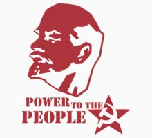 lenin - power to the people Kids Clothes