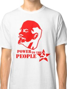 lenin - power to the people Classic T-Shirt