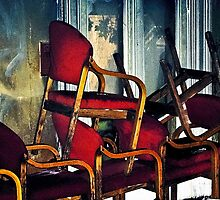 Portrait of the Random Chairs by Richard Earl