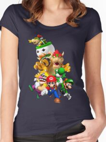 Mario 64 Women's Fitted Scoop T-Shirt