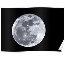 Super Moon over Arizona Poster