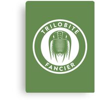 Trilobite Fancier Print Canvas Print
