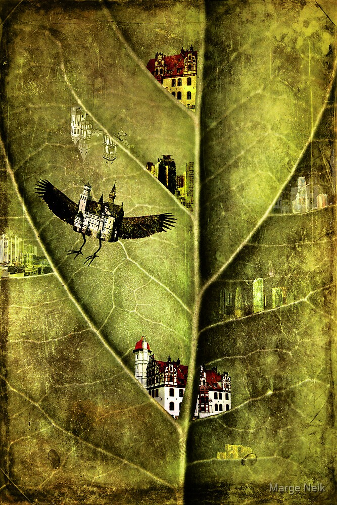 tiny cities by Marge Nelk