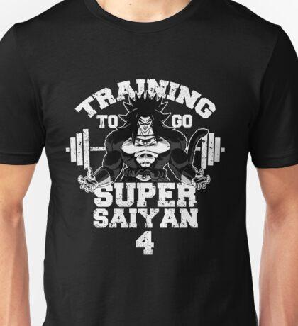 Training to go Super Saiyan 4 Unisex T-Shirt