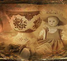 Porcelain Doll by Rozalia Toth