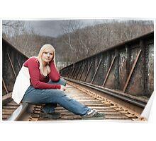 Samone On The Tracks Poster