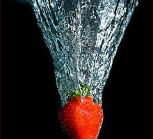 Strawberry Splash by Rex Boggs