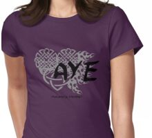 "Bloodlines Series ""AYE"" Design Womens Fitted T-Shirt"