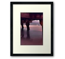 """""""Woodman Point Jetty At 3.00 am"""" Framed Print"""