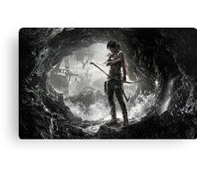 Tomb Raider - Lara Croft Canvas Print