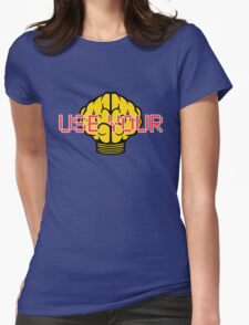 N*E*R*D Use Your Brain Womens Fitted T-Shirt