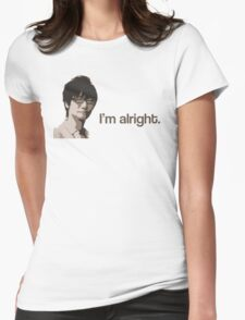 Kojima is Alright Womens Fitted T-Shirt