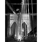 Brooklyn Bridge, New York by Eric Flamant