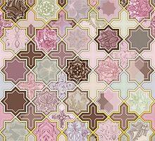 Neapolitan Geometric Tile Pattern by micklyn