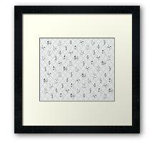Royal Pattern Framed Print