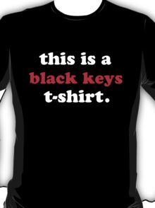 The Black Keys T-Shirt - Brothers T-Shirt
